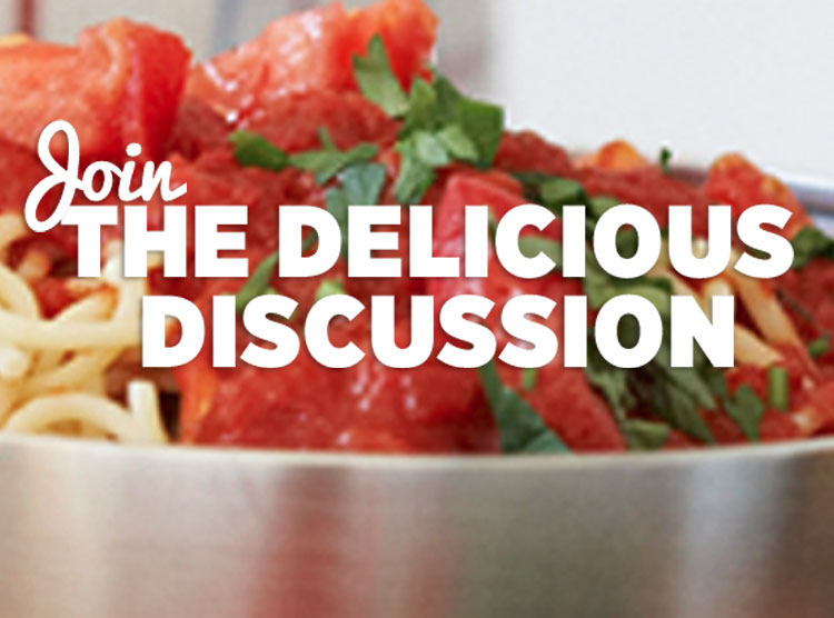 Join the Delicious Discussion