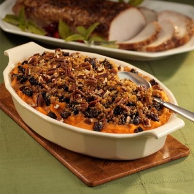 sweet potatoes mashed pecan crumble bean butternut squash chili august 1889